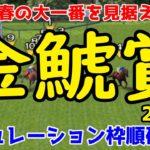 2020 金鯱賞 シミュレーション 枠順確定【競馬予想】
