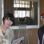 【高松宮記念】競馬界の女神・稲富菜穂がモズアスコットの玉井俊峰助手を直撃!