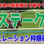 2020 葵ステークス シミュレーション 枠順確定【競馬予想】
