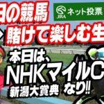 【生放送】NHKマイルC・新潟大賞典賭けて楽しむ生放送!!【競馬】