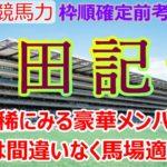 【競馬】安田記念 枠順確定前考察  カギは天候と馬場状況です!【馬券生活者の考え方】