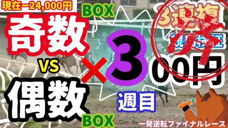 【競馬検証】3連複、奇数BOXと偶数BOXどっちが儲かる?『一発逆転ファイナルレース』 高知競馬#3