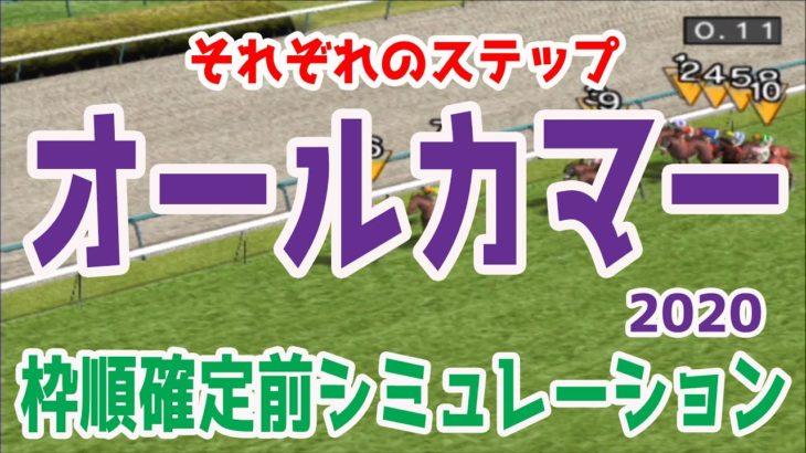 2020 オールカマー シミュレーション【競馬予想】枠順確定前