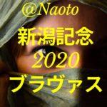 【新潟記念2020予想】ブラヴァス【Mの法則による競馬予想】