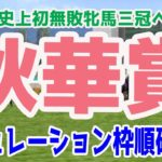2020 秋華賞 シミュレーション 枠順確定【競馬予想】