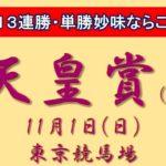【競馬予想】天皇賞秋2020 単勝妙味はアーモンドアイよりこちら!秋のG13戦3的中