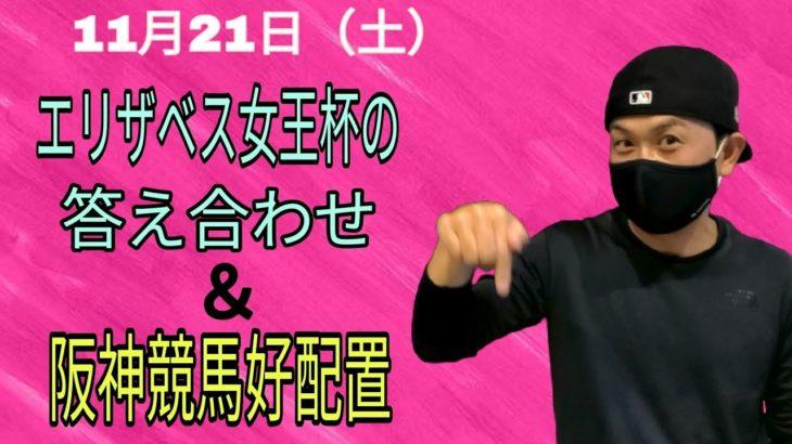 【競馬】エリザベス女王杯回顧と11月21日の阪神競馬の好配置発表動画です!