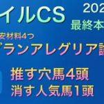 【競馬予想】 マイルチャンピオンシップ 2020 本予想 マイルCS