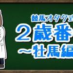 【2歳番付-牡馬編-】競馬オタクが注目する2歳牡馬!皐月賞orダービーor菊花賞?