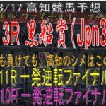 【2021年3月16日、3月17日高知競馬予想】高知の祭典Jpn3黒船賞、勝っても負けても最後はファイナルで〆!