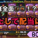 【オンラインカジノ】初めて回したスロットで高配当なるか?!?【VooDoo MAGIC】