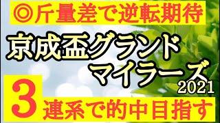 【京成盃グランドマイラーズ2021】最終結論!カジノフォンテンを倒すならあの馬。斤量の恩恵で逆襲期待だ!競馬予想TV【☆te-chan☆】