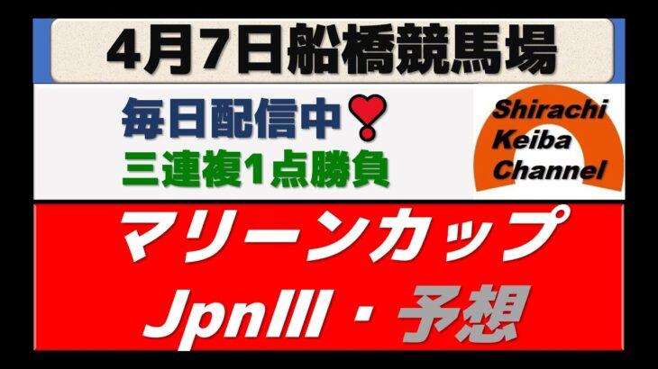 【競馬予想】マリーンカップ・JpnⅢ2021年4月7日 船橋競馬場