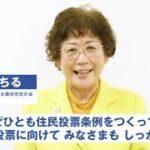 「カジノの是非を決める横浜市民の会」藤田みちる共同代表 メッセージ