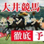 【 地方競馬予想 】6/7 大井競馬 11R アレキサンドライト賞 予想