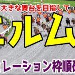 エルムステークス2021 枠順確定後シミュレーション 【競馬予想】