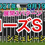 【競馬】ローズステークス2021 シミュレーション《展開3パターン》