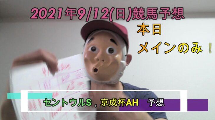 2021/9/12日曜競馬予想😀セントウルS、京成杯AH予想byMr.おじさん