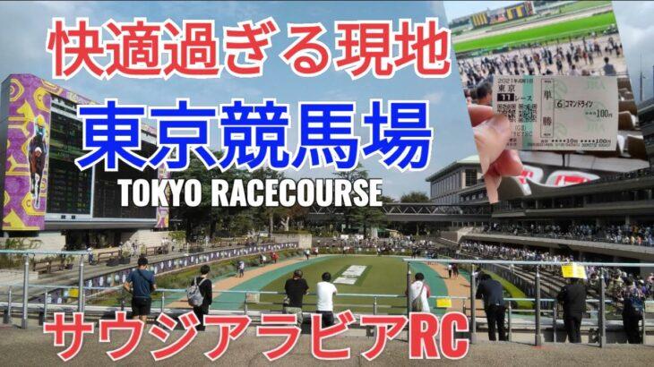 ぼっち競馬 東京競馬場が快適過ぎた 2021年10月9日【サウジアラビアRC コマンドライン】Tokyo Racecourse with DJI Pocket2