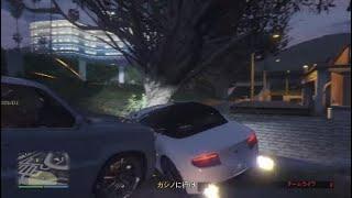 GTA5 カジノ強盗中の事故(笑)